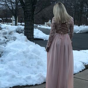 Blush gown *FINAL PRICE*